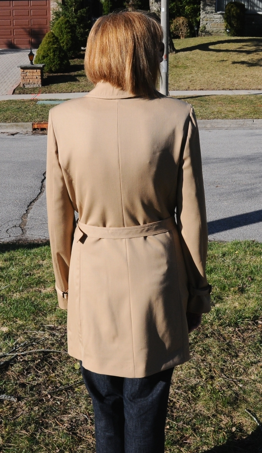 Back of Coat