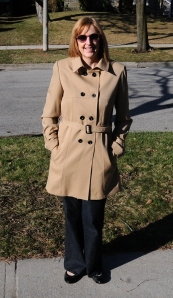 Vogue 8884 Trench Coat in Wool Gaberdine